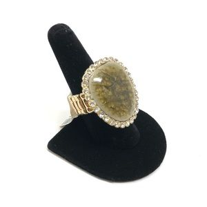 Jewelry - Large Costume Fashion Cocktail Adjustable Ring